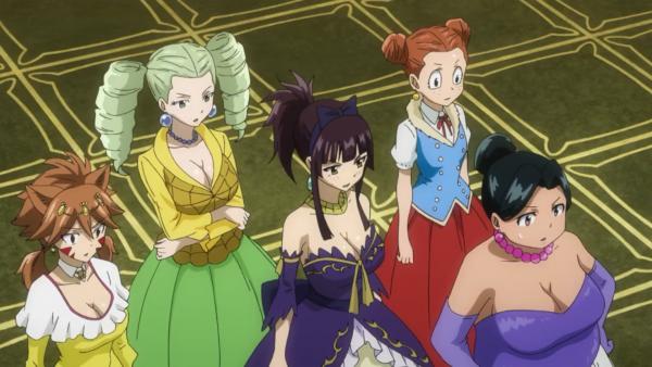 Risley Law, Beth Vanderwood, Araña Webb, Kagura Mikazuchi & Miliana - Arc Eclipse