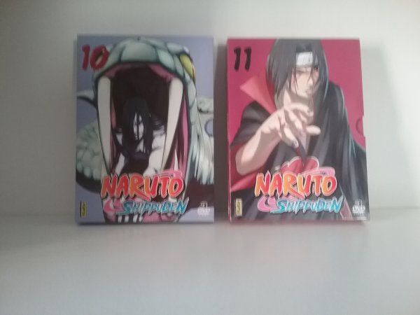 Naruto Shippuden, coffrets DVD 1 à 11 - Collection