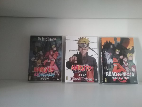 Films de Naruto - Collection