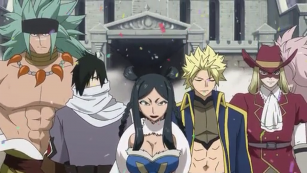 Sting Eucliffe, Rogue Cheney, Minerva Orland, Rufus Lohr & Orga Nanagear - Arc Eclipse