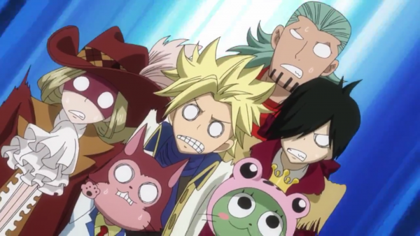 Lector, Sting Eucliffe, Rufus Lohr, Orga Nanagear Frosch & Rogue Cheney - Arc Eclipse