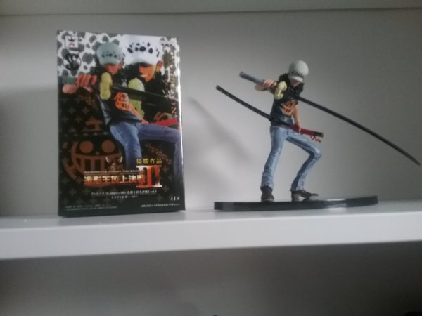 Sculture Art de Luffy, Law & Urouge - Collection