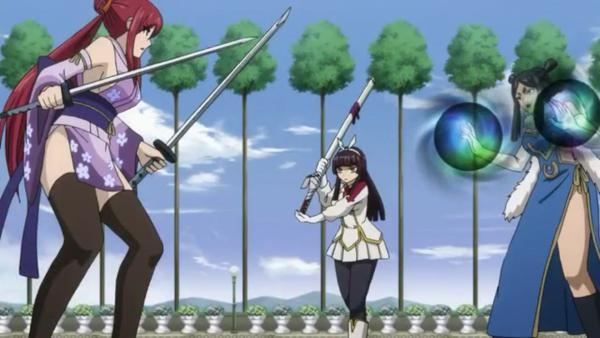 Erza Scarlet vs Kagura Mikazuchi vs Minerva Orland - Arc Eclipse