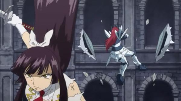 Erza Scarlet vs Kagura Mikazuchi - Arc Eclipse