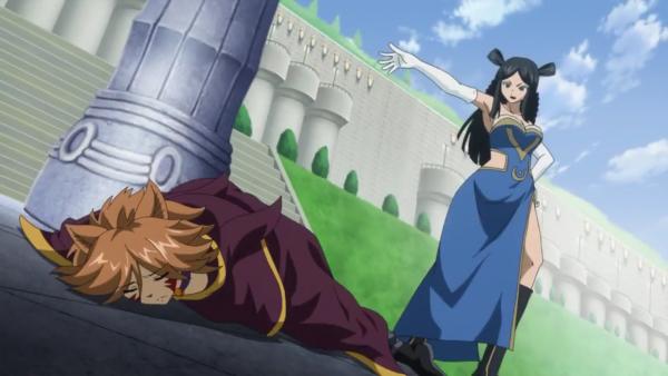 Kagura Mikazuchi vs Erza Scarlet (+ Minerva Orland & Miliana) - Arc Eclipse