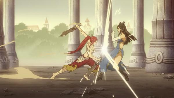 Erza Scarlet vs Minerva Orland - Arc Eclipse