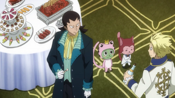 Gajeel Redfox + Sting Eucliffe, Lector, Rogue Cheney & Frosch - Arc Eclipse