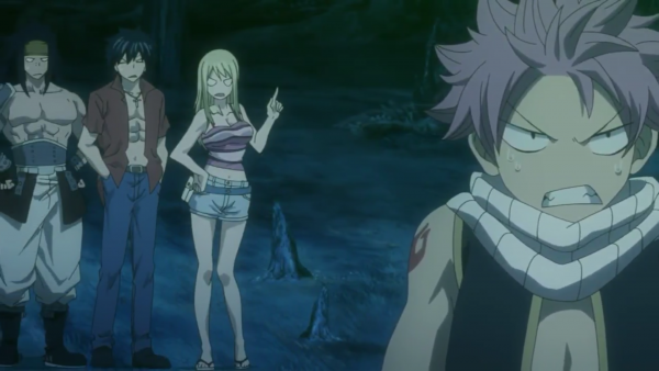 Lucy Heartfilia, Grey Fullbuster, Natsu Dragnir, Gajeel Redfox, Panther Lily, Happy & Carla - Arc Eclipse