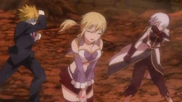 Lucy Heartfilia, Leo, Yukino Aguria & Virgo - Arc Eclipse