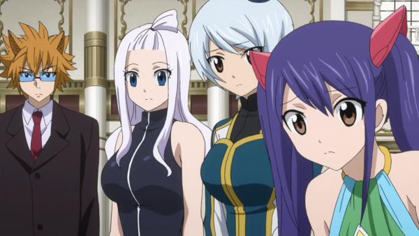 Panther Lily, Happy, Carla, Natsu Dragnir, Mirajane Strauss, Yukino Aguria, Wendy Marvel, Lucy Heartfilia & Leo - Arc Eclipse
