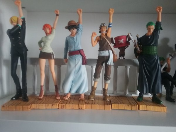 One Piece, Dramatic Showcase Alabasta - Collection