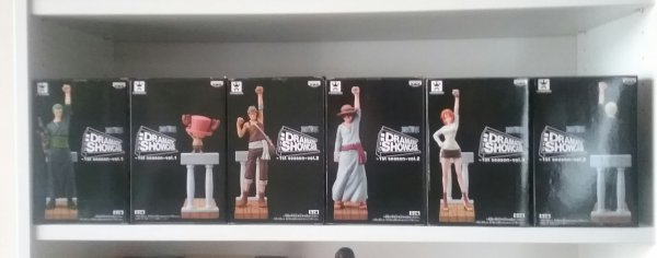 One Piece, Dramatic Showcase Alabasta - Collection
