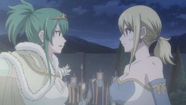 Jade (ou Hisui) E. Fiore, Arcadios & Lucy Heartfilia - Arc Eclipse