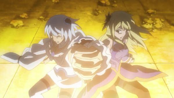 Yukino Aguria & Lucy Heartfilia - Arc Eclipse