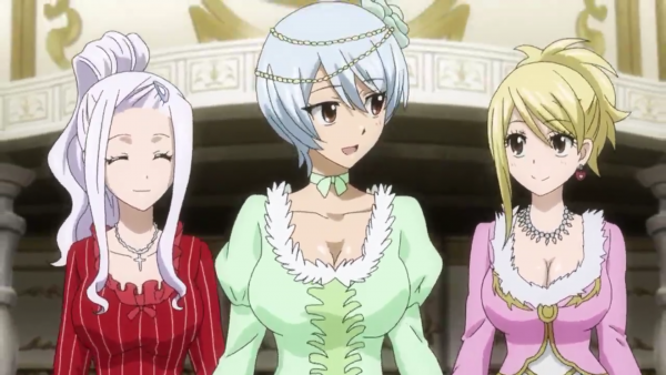 Yukino Aguria + Panther Lily, Happy, Carla, Wendy Marvel, Mirajane Strauss & Lucy Heartfilia - Arc Eclipse