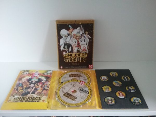 DVD Film Gold (edition collector) + Coffret DVD Dressrosa vol. 8 + SP 07, Episode du Merry - Collection