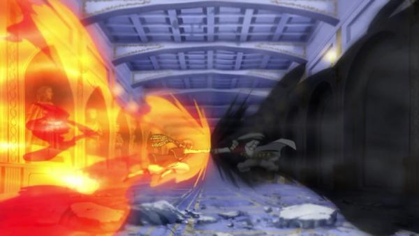 Rogue Cheney du futur + Lucy Heartfilia & Natsu Dragnir - Arc Eclipse