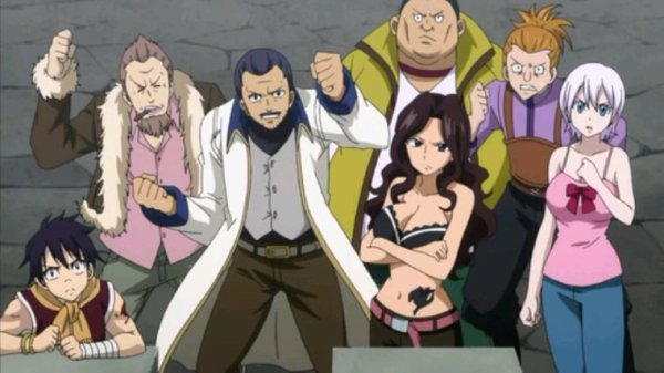 Membres de Fairy Tail - Arc Eclipse