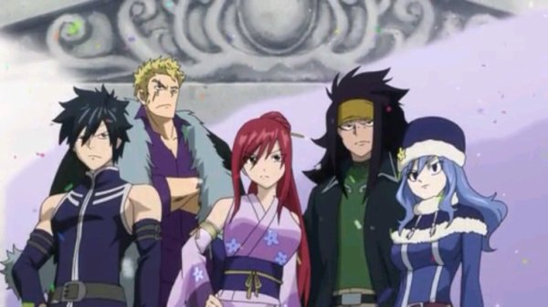 Grey, Luxus, Erza, Gajeel & Jubia - Arc Eclipse