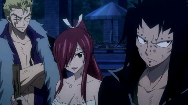Grey, Jubia, Luxus, Erza & Gajeel - Arc Eclipse