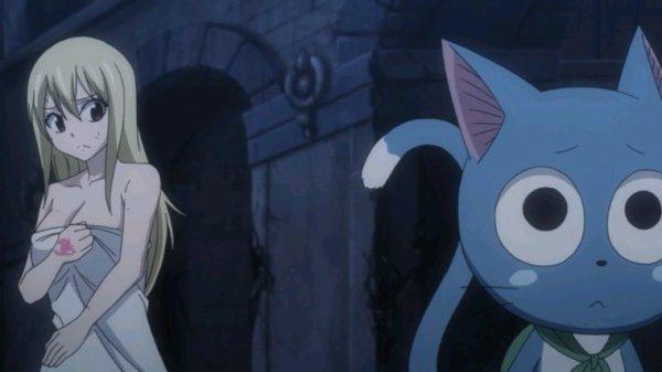 Lucy Heartfilia, Natsu Dragnir & Happy - Arc Eclipse