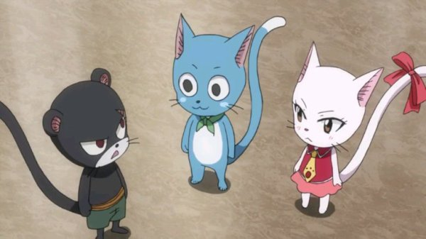 Carla, Panther Lily & Happy - Arc Eclipse