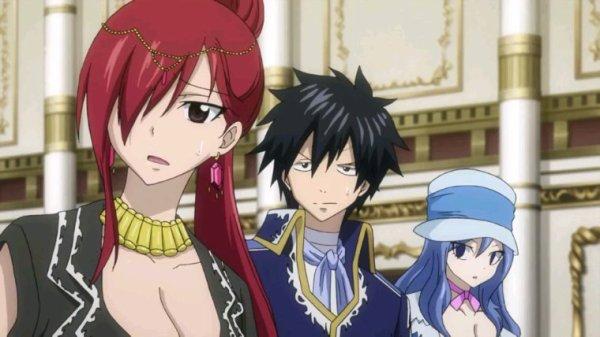 Natsu, Lucy, Erza, Grey & Jubia - Arc Eclipse