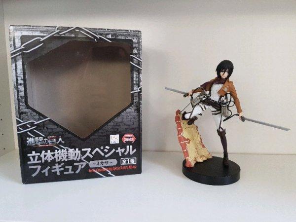 Eren Yaeger & Mikasa Ackerman - Figurines Furyu