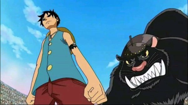 Bacura & Monkey D. Luffy - Arc Amazon Lily