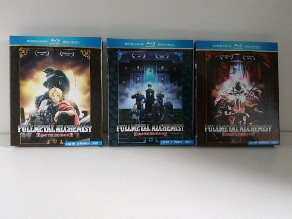 Full Metal Alchemist - Coffret 1 & 2 + les 2 films