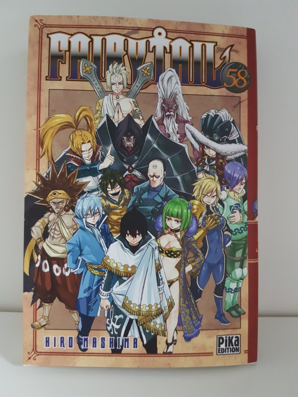One Piece (tome 83), Fairy Tail (tome 58) & Boruto (tome 2) - Collection