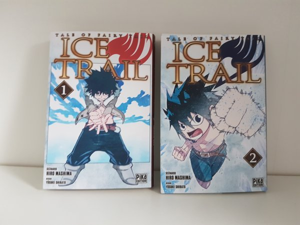 Fairy Tail Ice Trail, Fairy Tail Blue Mistral & Fairy Girls