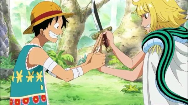 Luffy & Margaret - Arc Amazon Lily