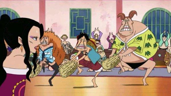 Luffy + Kikyo, Daisy, Sweet Pea, Rindo, Aphelandra, Ran, Margaret & Nyon - Arc Amazon Lily