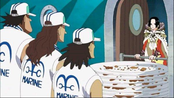 Boa Hancock (+ Salome) & Monkey D. Luffy - Arc Retour sur l'équipage (1)