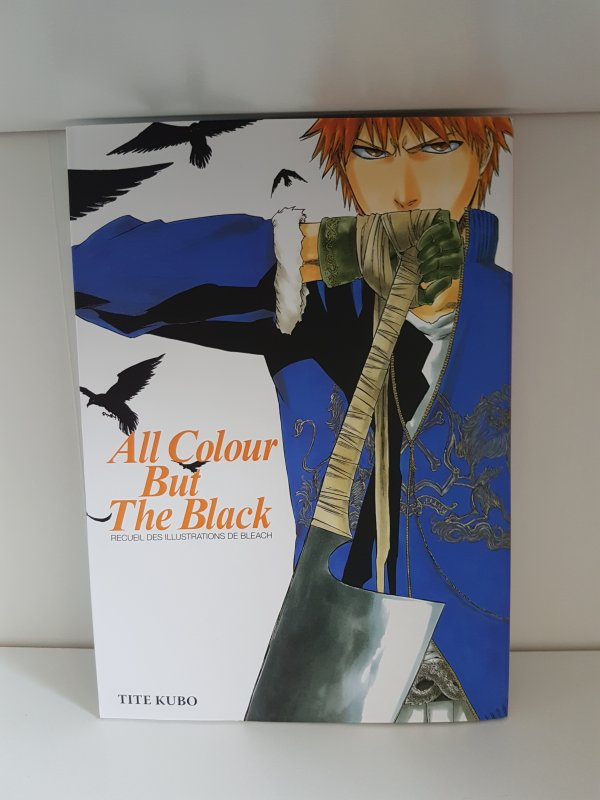 "Bleach collection : tome 74 + tomes films 1& 3 + artbook ""All colour but the black"""