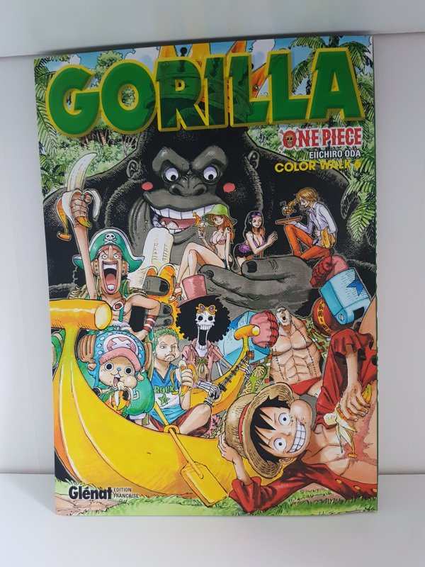 Artbooks 4 (Eagle) - 5 (Shark) & 6 (Gorilla) de One Piece
