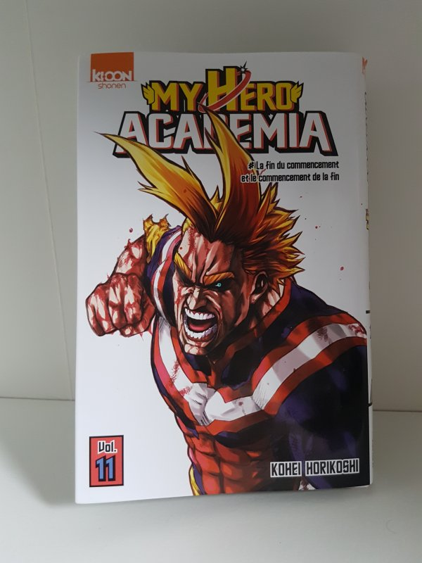 Tome 11 de My Hero Academia + Coffret DVD 11 de Fairy Tail Collection & ses goodies