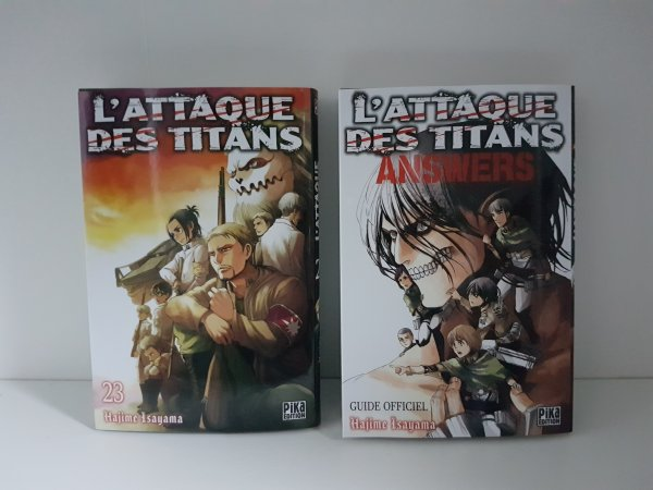 Tomes Fairy Tail, Shingeki no Kyojin, My Hero Academia, Ao no Exorcist & Nanatsu no Taizai + DVD Naruto - Collection