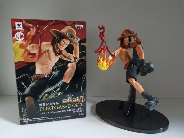 Luffy (KoA) & Ace (Sculture Art) - Collection