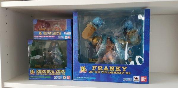 Zoro, Chopper & Franky - Figuarts Zero, 20th anniversary