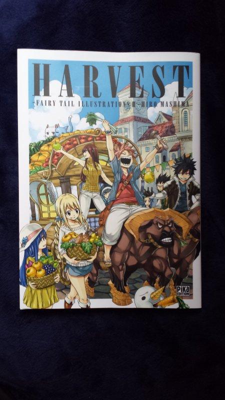 One Piece magazine vol. 2, Fairy Tail tomes 61 + 62 & Fairy Tail Artbook Harvest
