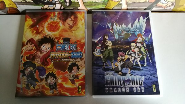 Tomes & DVD One Piece et Fairy Tail + One Piece Magazine vol. 3
