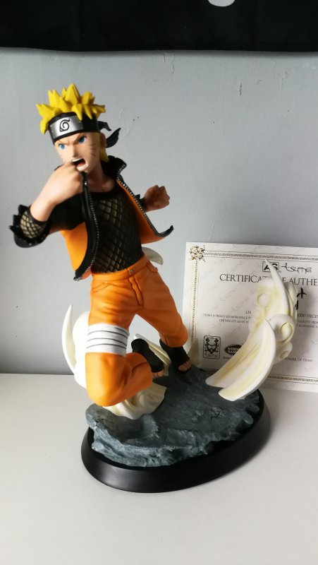 Naruto & Sasuke - AS by Tsume (statue sorti avec le jeu (version collector) Naruto ultimate ninja storm 4)