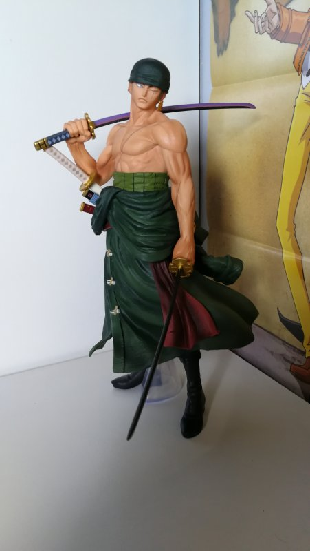 Ichiban Kuji - The Best Edition (Memory figure). Luffy, Zoro, Sanji, Law & Ace