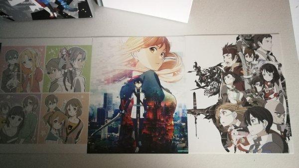 Coffrets DVD (avec leur Artbook respectif) Sword Art Online - Saison 1 et 2 + film Ordinal Scale