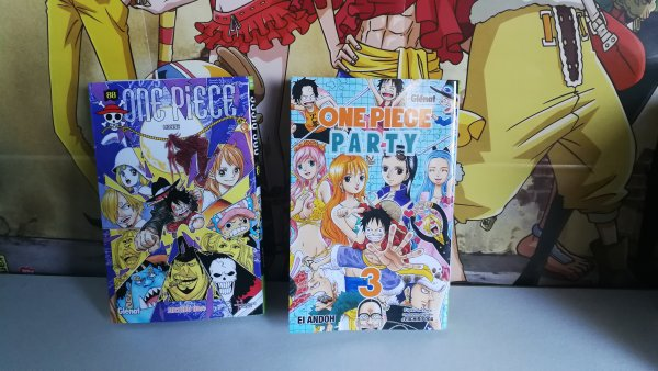 Tomes One Piece 88 + One Piece Party 3 + My Hero Academia 16 + Nanatsu no Taizai 29 + Fairy Tail S 1 & 2
