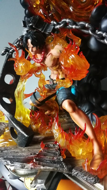 Portgas D. Ace - HQS by Tsume