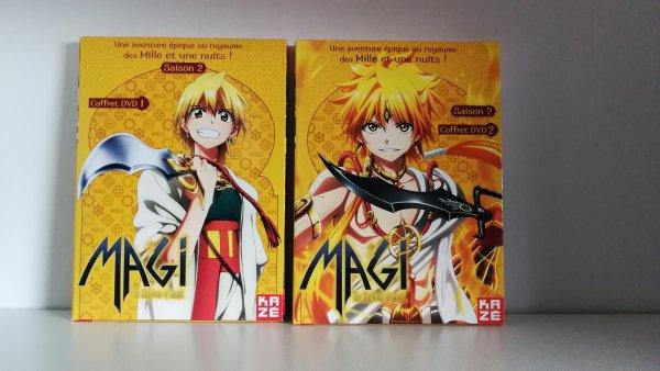 Nouveaux tomes et DVD