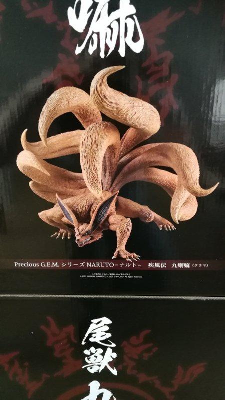 Kurama (Precious G.E.M) + Naruto (G.E.M Rikudo Sennin Mode) + boites de Kurama